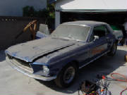 1967 Shelby Mustang Coupe Before